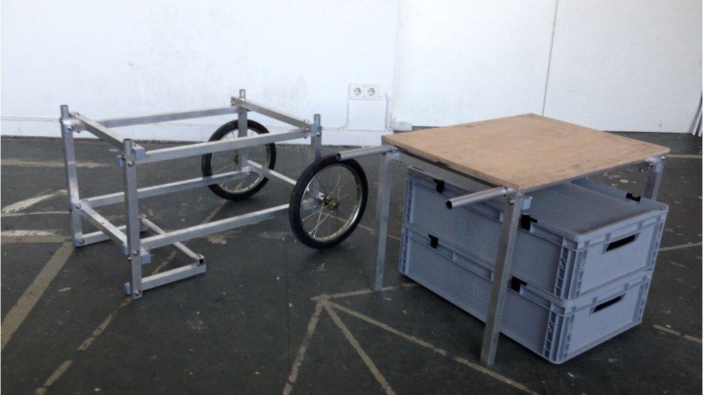Umbau Werkzeugwagen