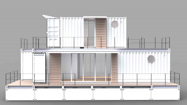 modular swimming shelter