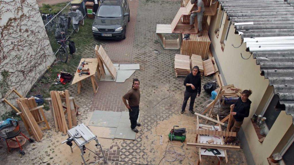 Bau der Kistenmodule