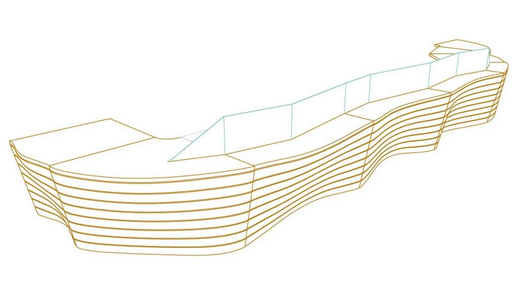 Tesen für überdachten Außenbereich (Zeichnung: Alexander Joly)