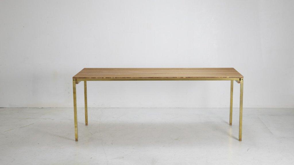 XYZ Tisch   Material: Eiche/Messing